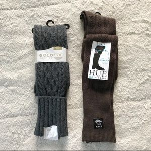 2 NWT Pairs Of Over The Knee Socks